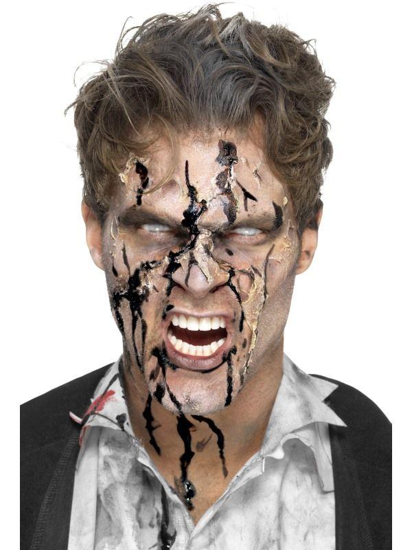 Zombie Gel Bloed Zwart Small