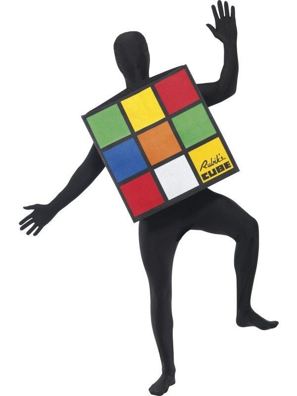Rubik's Cube Unisex Verkleedkleding