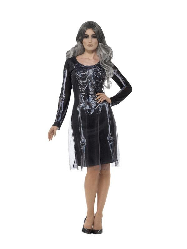 Lady Skeleton Kostuum