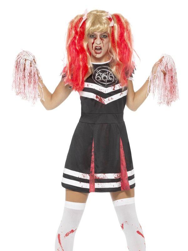 Satanic Cheerleader Kostuum