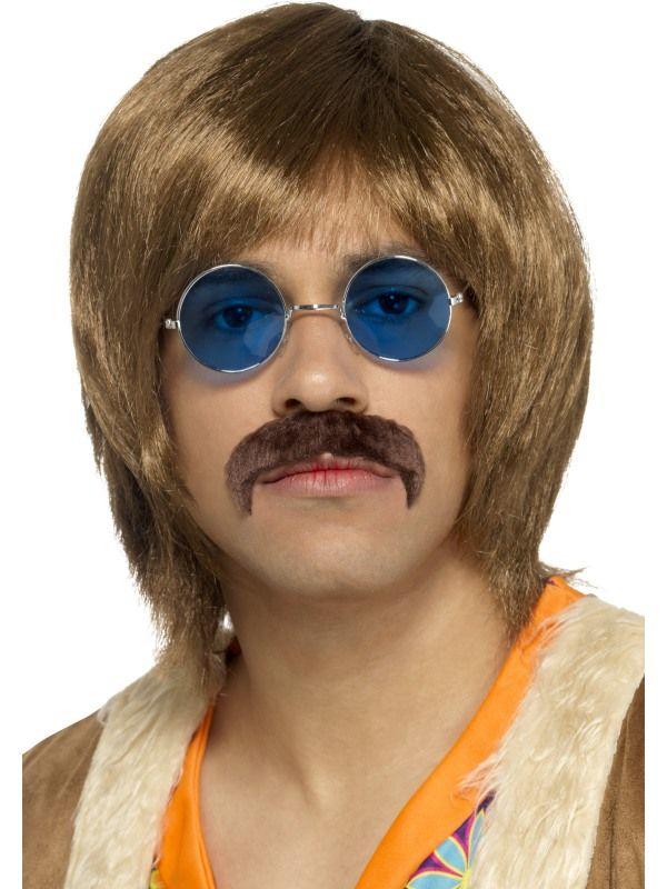 Deluxe 60s Hippie Setje Bruin