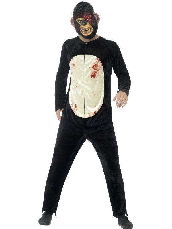 Deluxe Zombie Chimp Kostuum