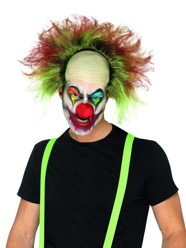 Sinister Clown Pruik