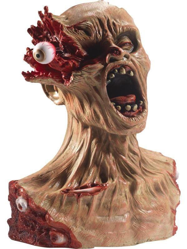 Latex Exploding Eye Zombie Bust