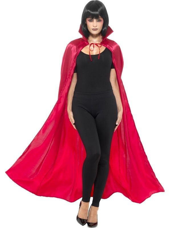 Satin Devil Cape