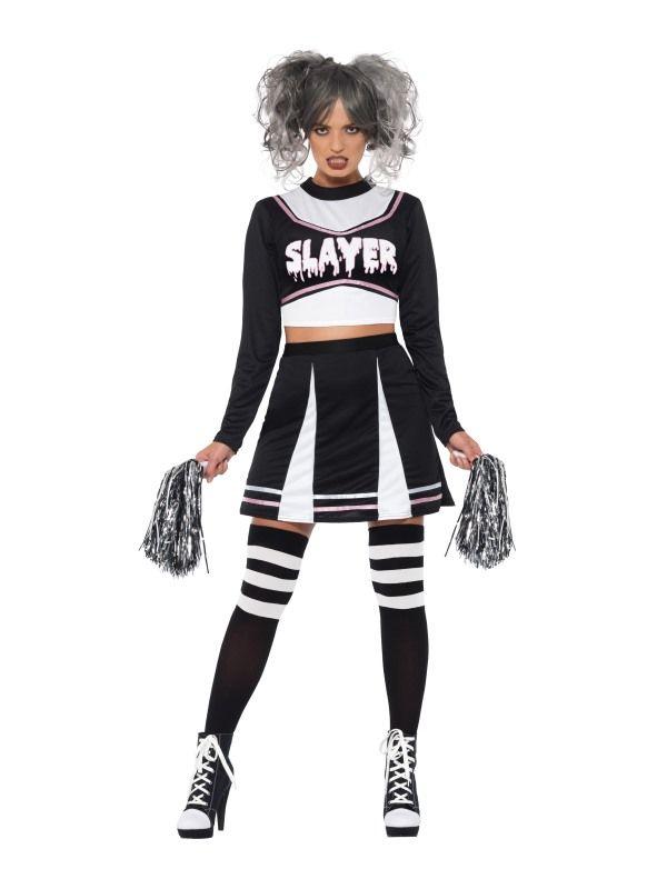 Fever Gothic Cheerleader Kostuum