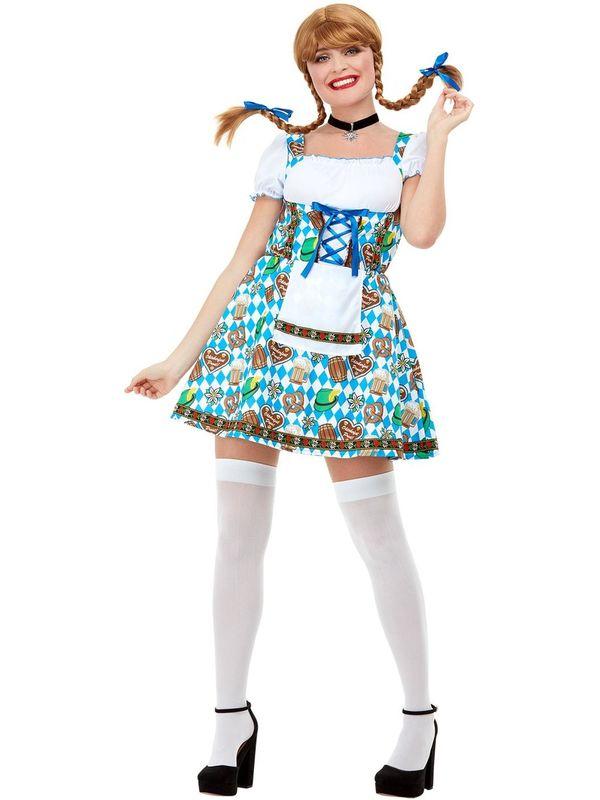 Oktoberfest Beer Maiden Kostuum
