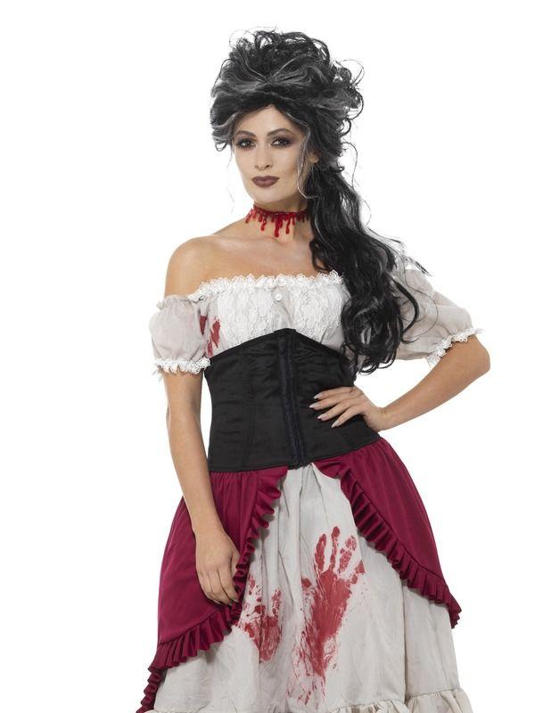 Victorian Slasher Victim Kostuum