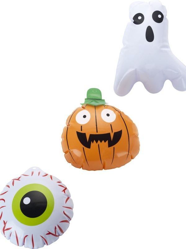 Mini Halloween Inflatables, Set van 3
