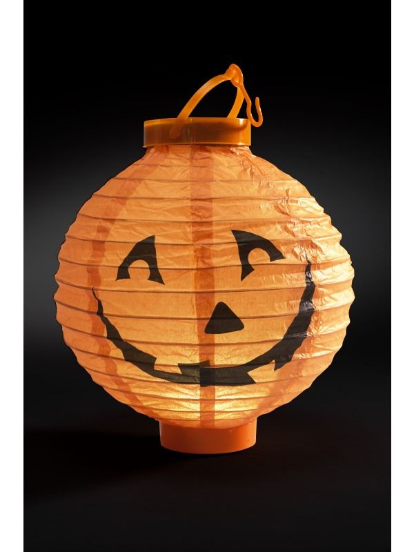 Light Up LED Paper Pumpkin Lampion