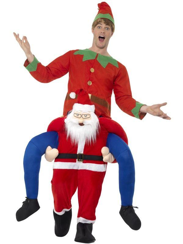 Piggyback Santa Kostuum