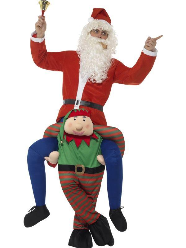 Piggyback Elf Kostuum