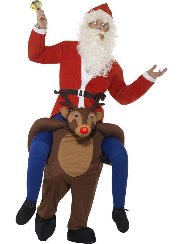 Piggyback Reindeer Rudolf Kostuum