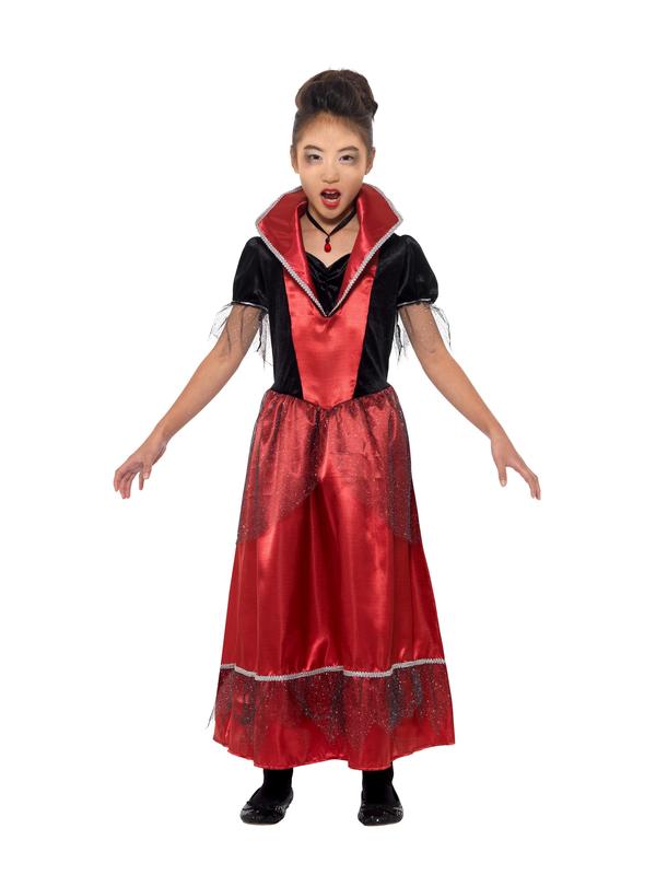 Vampire Princess Kinder Kostuum