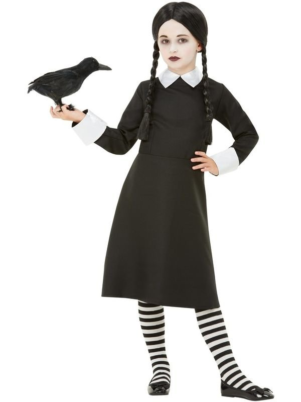 Gothic School Girl Kinder Kostuum