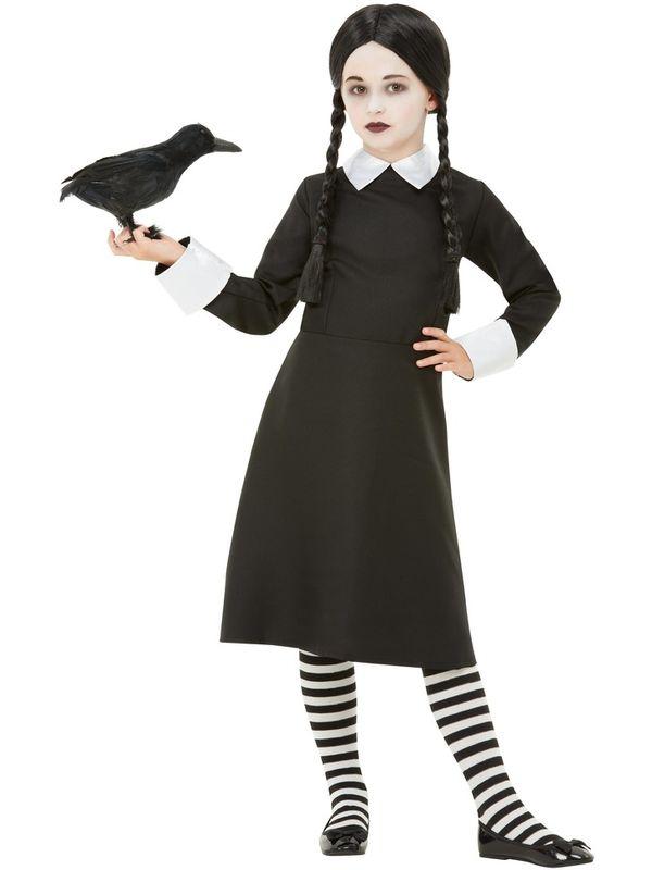 Gothic School Girl Kinder Kostuum