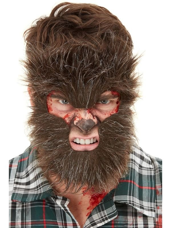 Make-Up FX, Werewolf Face Fur