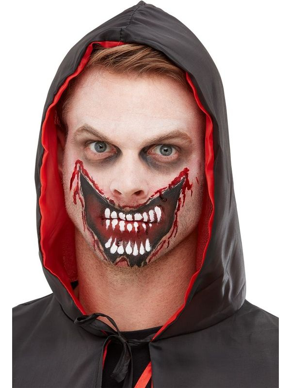 Make-Up FX, Slashed Mouth Kit, Aqua