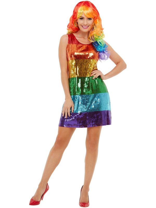 Glitter Rainbow Jurkje