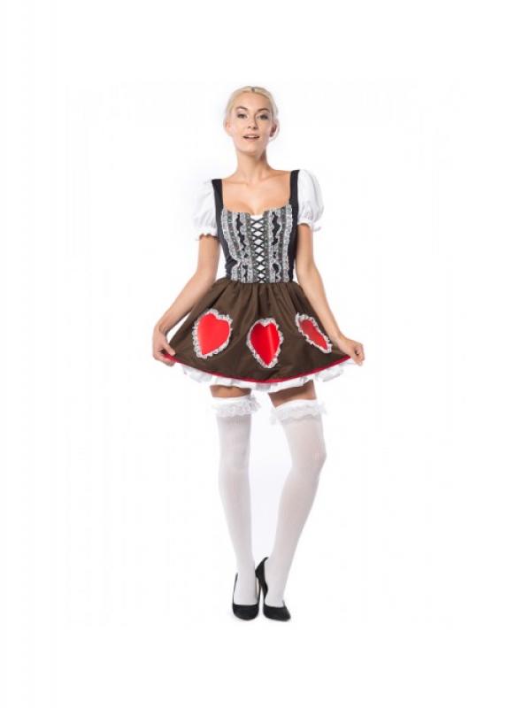 Oktoberfest Heide Heart Jurk