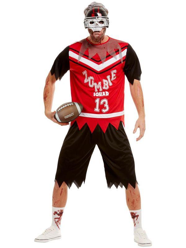 Zombie Footballer Kostuum