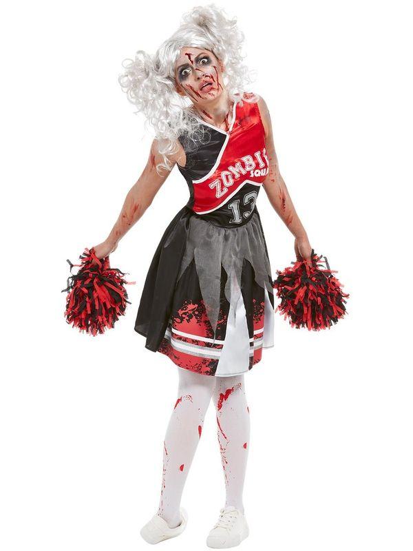 Cheerleader Zombie Kostuum