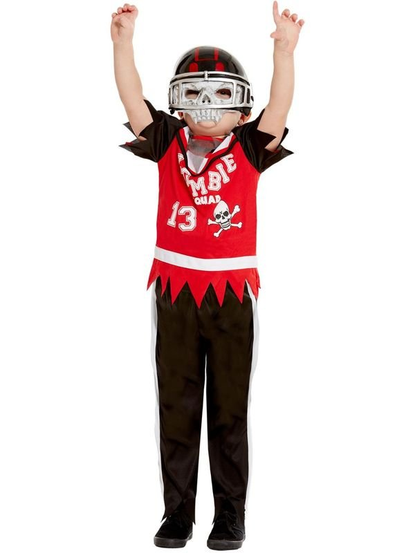 Zombie Football Player Kinder Kostuum