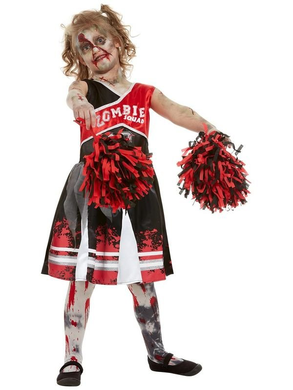 Zombie Cheerleader Kinder Kostuum
