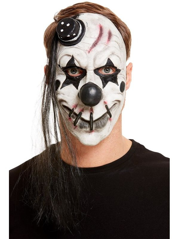 Scary Clown Latex Masker