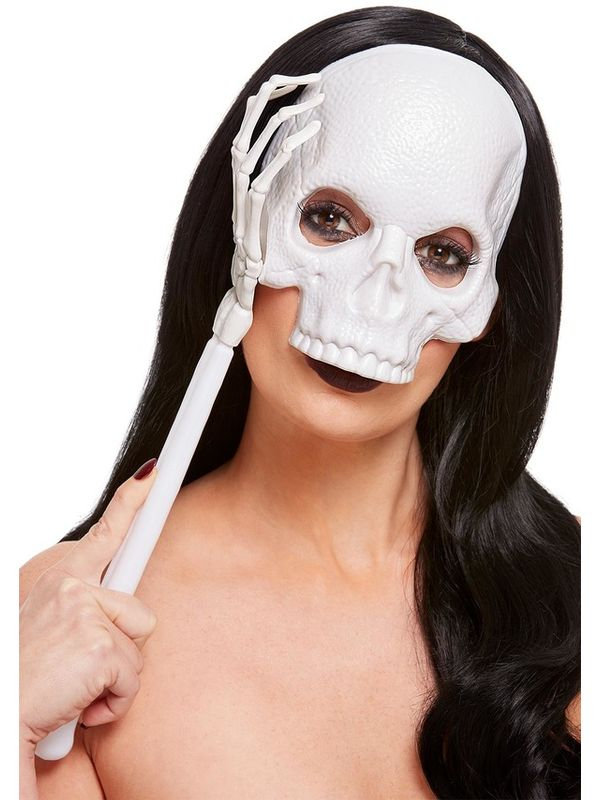 Handheld Skull Masker