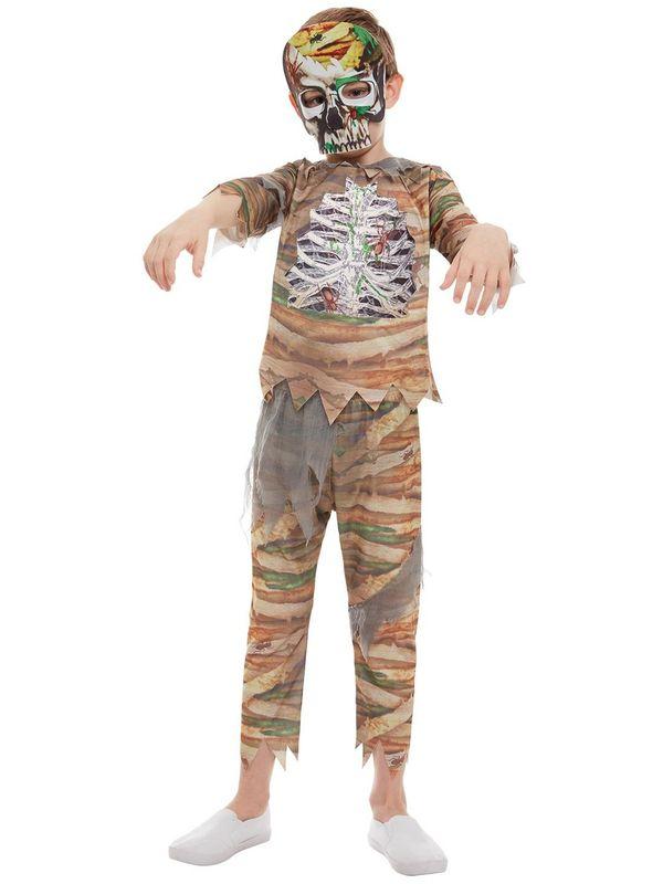 Zombie Mummy Kinder Kostuum