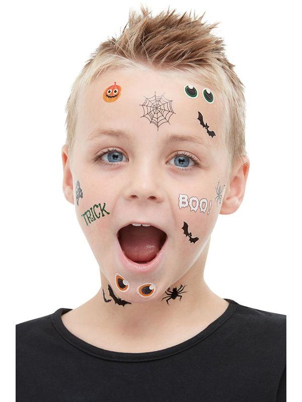 Halloween Tattoo Transfers Kinder