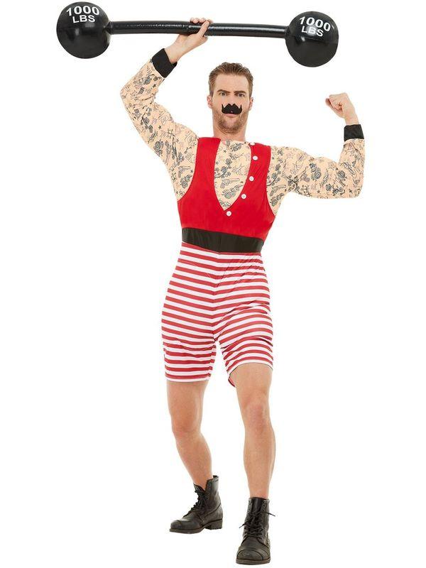 Deluxe Strongman Kostuum