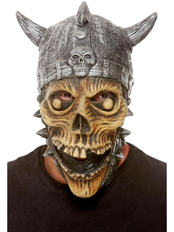 Viking Skeleton Latex Masker