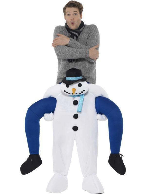 Piggyback Snowman Kostuum