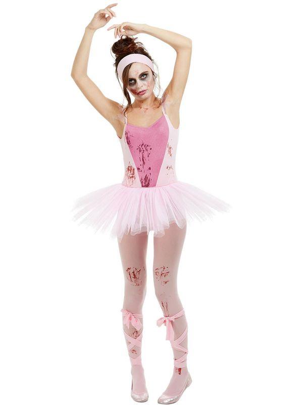 Zombie Ballerina Kostuum