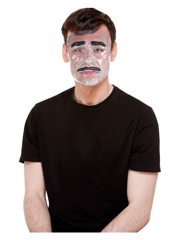 Transparent Masker Heren.