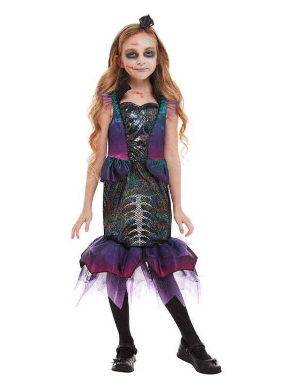 Dark Mermaid Kinder Kostuum