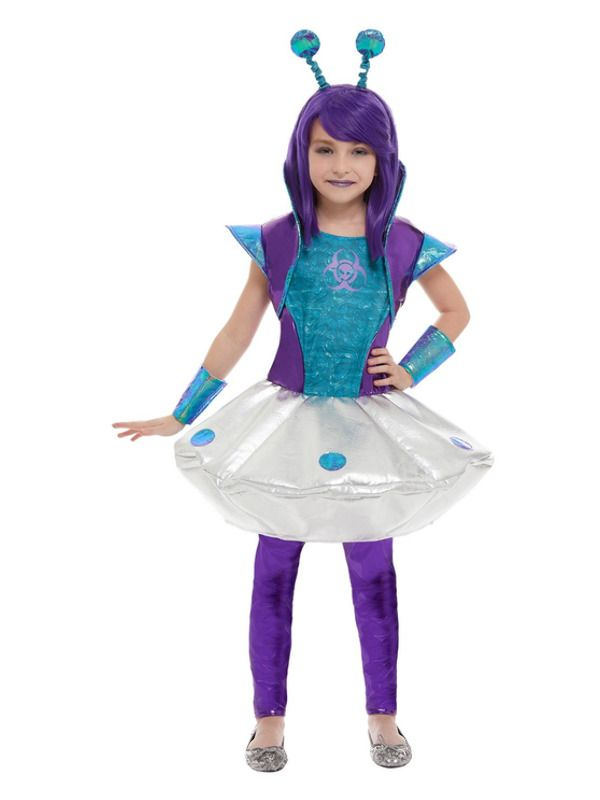 Alien Girl Kostuum
