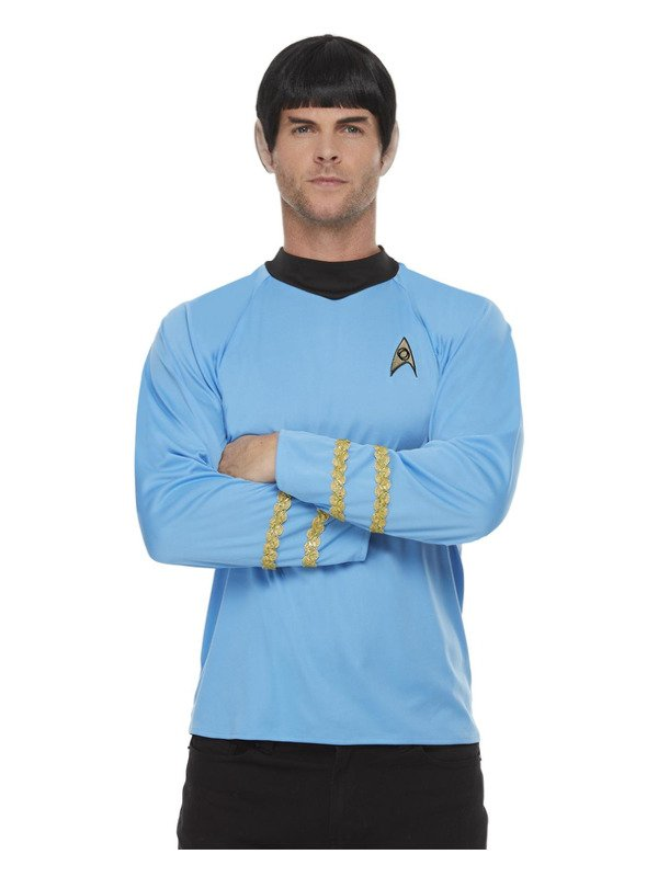 Star Trek,  Sciences Uniform, Top Blue
