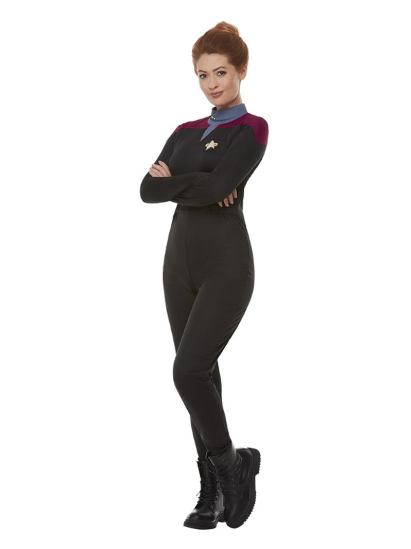 Star Trek, Voyager Command Uniform,Jumpsuit Maroon