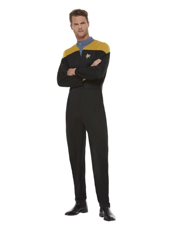 Star Trek, Voyager Operations Uniform, Gold & Black