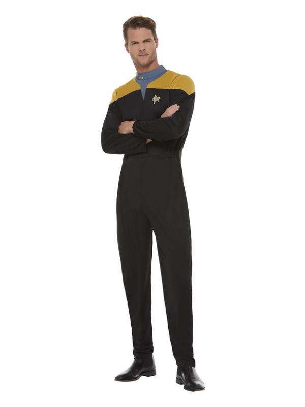 Star Trek, Voyager Operations Uniform, Gold & Black
