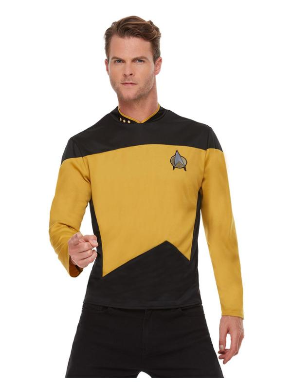 Star Trek, The Next Generation Operations Uniform, Top Gold/Black