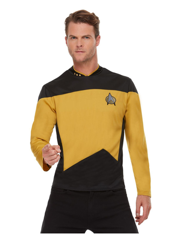 Star Trek, The Next Generation Operations Uniform, Top Gold/Black