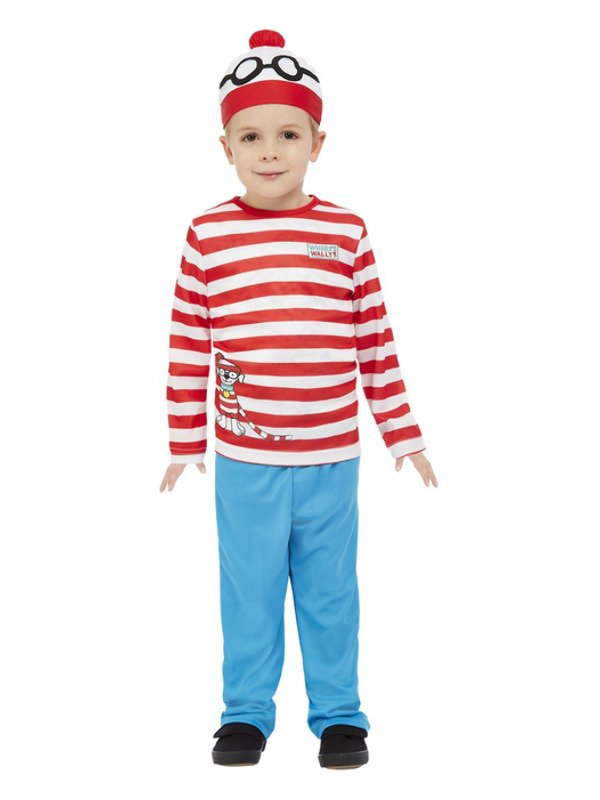 Where's Wally Peuter Kostuum