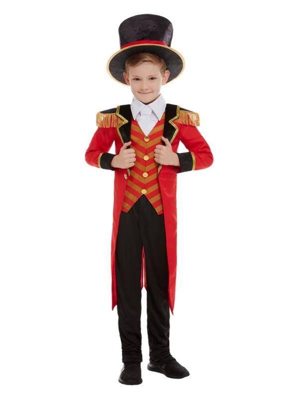 Deluxe Ringmaster Kinder Kostuum