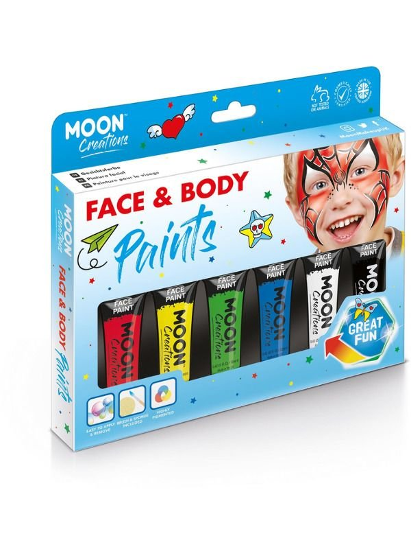 Moon Creations Face & Body Paint 1