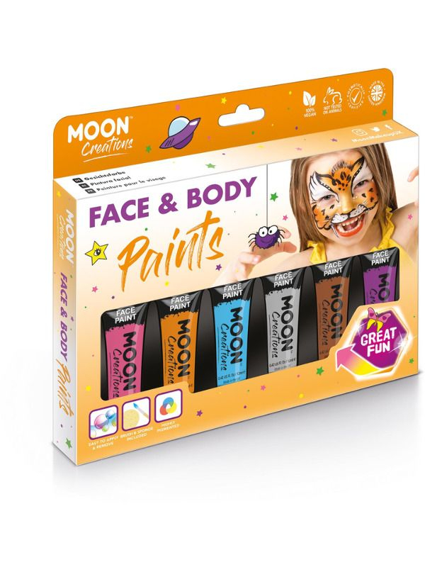 Moon Creations Face & Body Paint 2