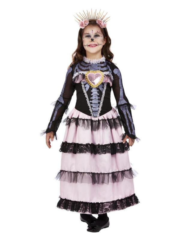 Deluxe DOTD Princess Kinderkostuum, Roze/Zwart